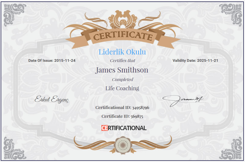 Certificational